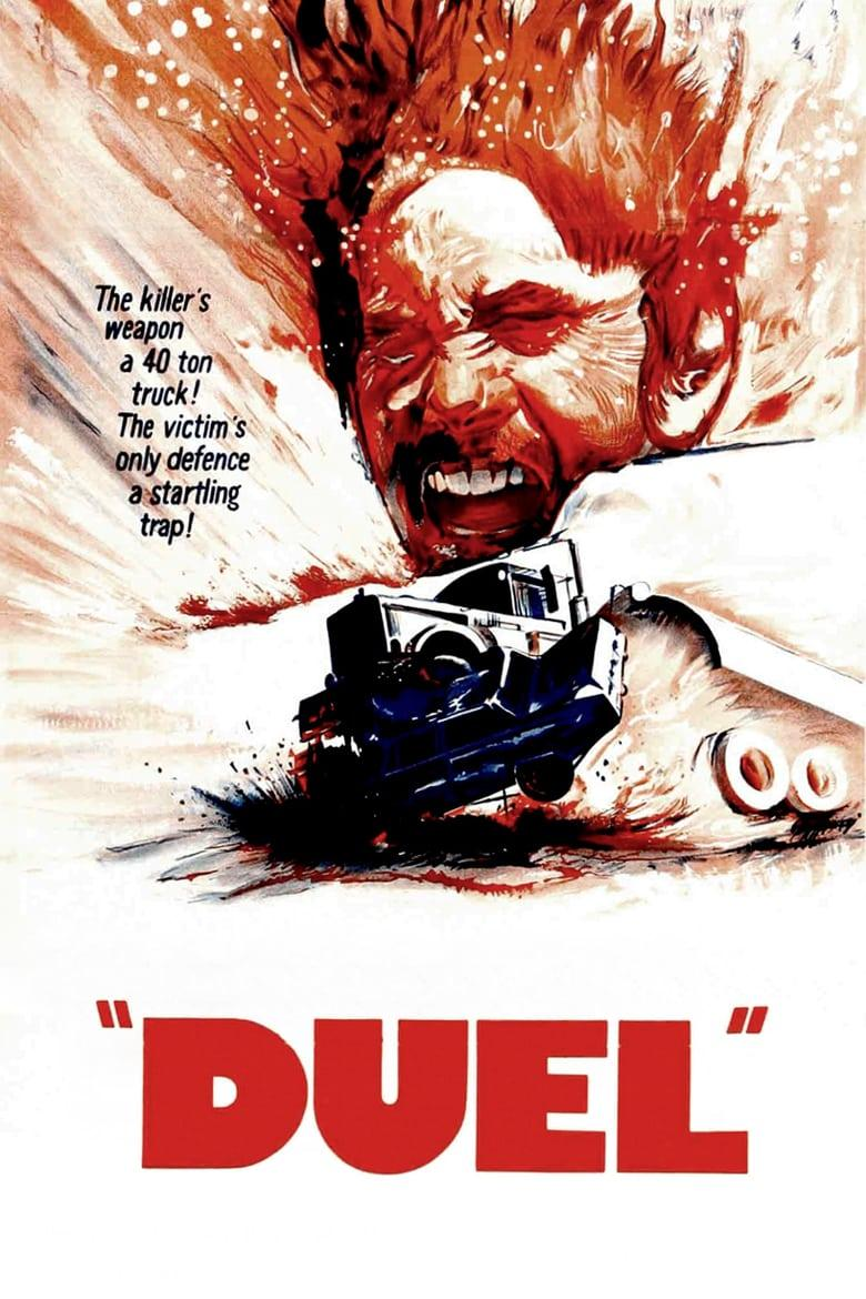 "Poster for the movie ""Duel"""