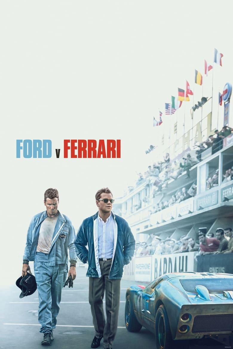 "Poster for the movie ""Ford v Ferrari"""