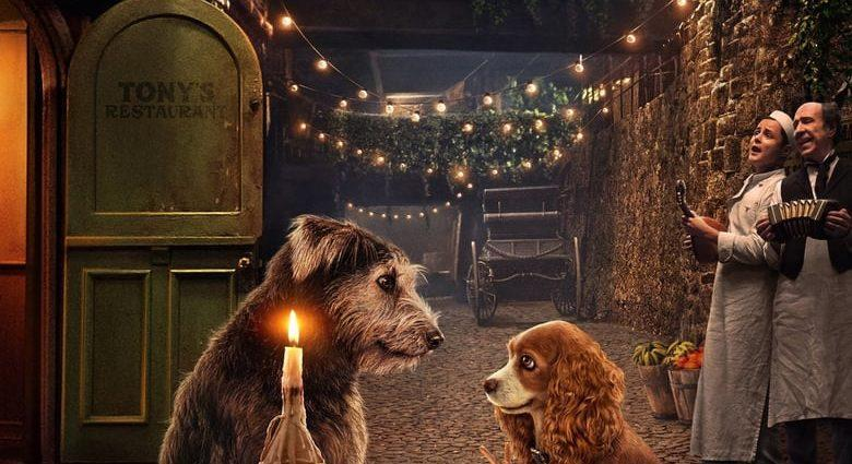 """Poster for the movie """"Lady and the Tramp"""""""