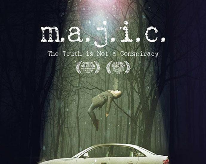 """Poster for the movie """"Majic"""""""
