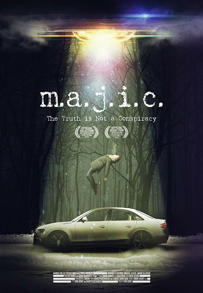 "Poster for the movie ""Majic"""