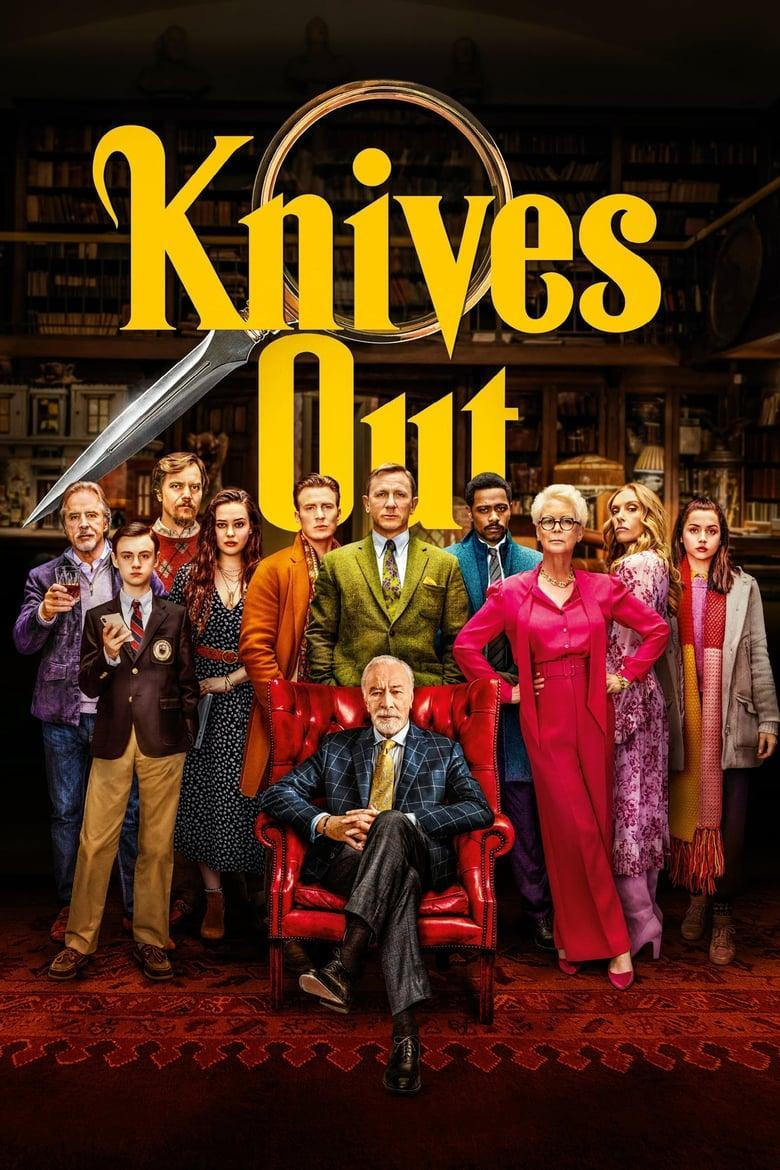 """Poster for the movie """"Knives Out"""""""