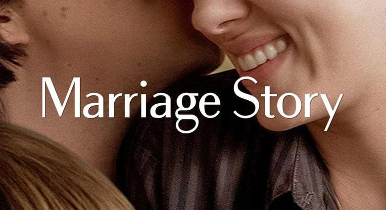 "Poster for the movie ""Marriage Story"""