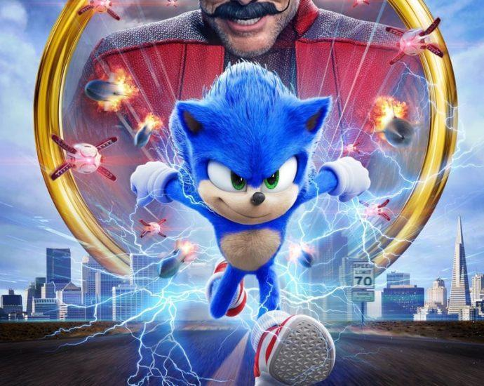 """Poster for the movie """"Sonic the Hedgehog"""""""