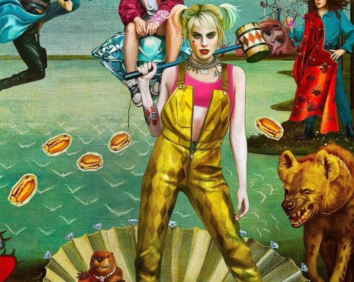 "Poster for the movie ""Birds of Prey (and the Fantabulous Emancipation of One Harley Quinn)"""