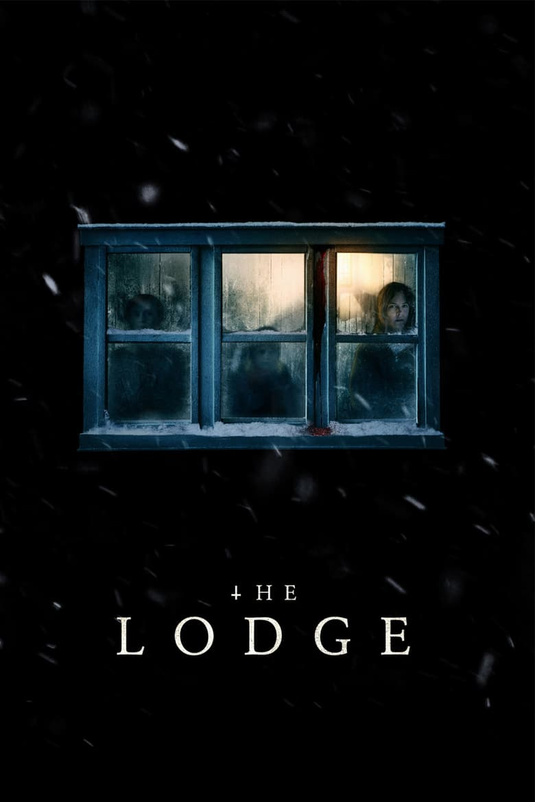 "Poster for the movie ""The Lodge"""