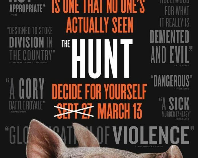 """Poster for the movie """"The Hunt"""""""