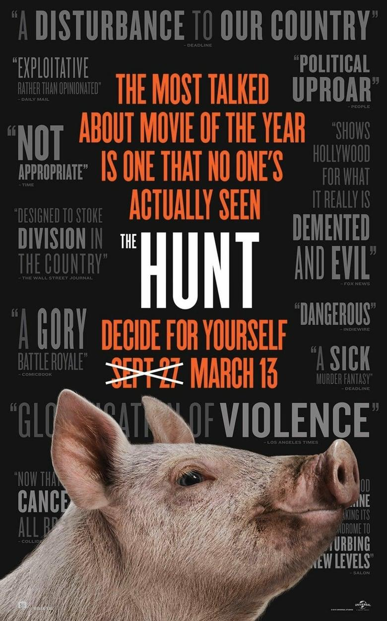"Poster for the movie ""The Hunt"""