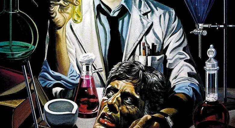 """Poster for the movie """"Re-Animator"""""""