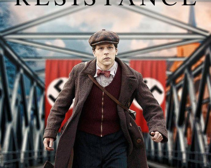 """Poster for the movie """"Resistance"""""""
